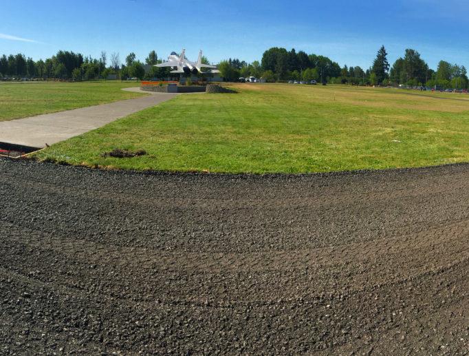 Base Running Track Oregon Air National Guard Portland Oregon