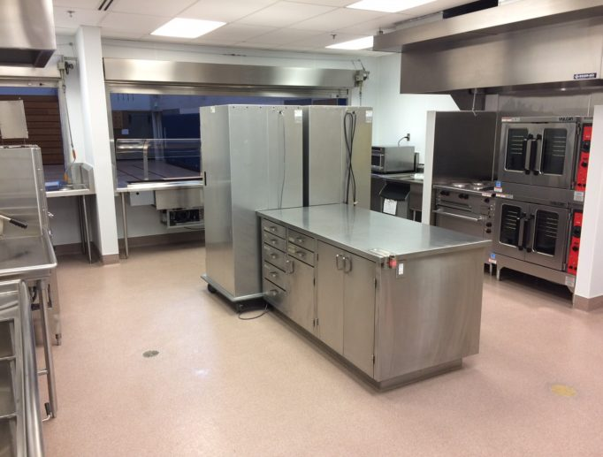 Kitchen Remodel for South Whidbey School District
