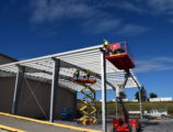 Covered Box Storage Steel Building at NAS Whidbey Island