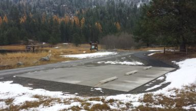 Construct Flow Control Structure US Fish and Wildlife Service Little Pend Oreille National Wildlife Refuge