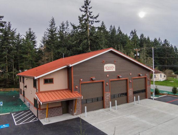 North Whidbey Fire Station #21 Cornet Bay Oak Harbor Washington
